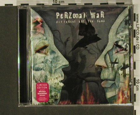 Perzonal War: Different But The Same,Co, Lim.Ed., AFM(), D, 02 - CD - 97333 - 7,50 Euro