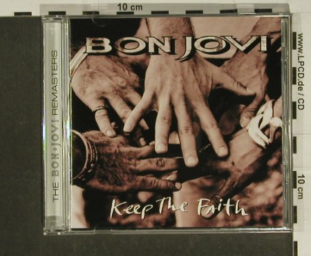 Bon Jovi: Keep The Faith, 12 Tr. +Video, Mercury(538 034-2), D, 1992 - CD - 97399 - 10,00 Euro