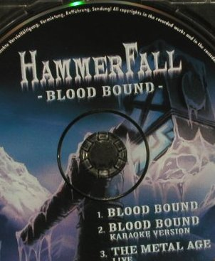 Hammerfall: Blood Bound*2/The Metal Age,live, Nucl.Blast(), D, 2005 - CD5inch - 97448 - 2,50 Euro