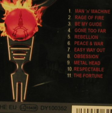 Redkey: Rage of Fire, A Label(), , 2006 - CD - 97670 - 7,50 Euro
