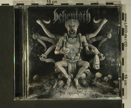 Behemoth: The Apostasy, Regain Records(RR099), EU, 2007 - CD - 97784 - 10,00 Euro