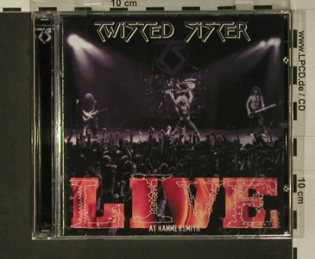 Twisted Sister: Live At Hammersmith, Spitfire(SPITCD 078), UK, 2001 - 2CD - 97793 - 10,00 Euro