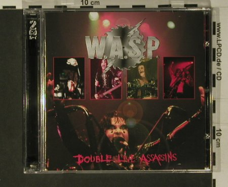 W.A.S.P.: Double Live Assassins, Recall(SMD CD 275), UK, 1998 - 2CD - 97798 - 10,00 Euro