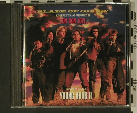 Bon Jovi,Jon: Blaze Of Glory(Young Guns II), Vertigo(), D, 1990 - CD - 97910 - 7,50 Euro
