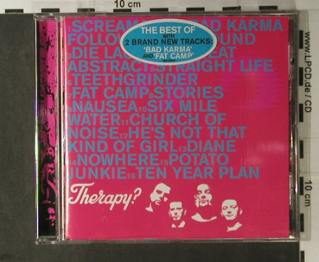 Therapy?: So Much For The Ten Year Plan, ARK 21(560 607-2), EU, 2000 - CD - 98205 - 10,00 Euro