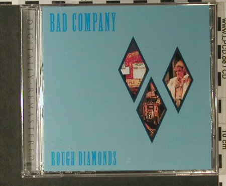 Bad Company: Rough Diamonds, remaster, Swan Song(), D, 1982 - CD - 98223 - 7,50 Euro