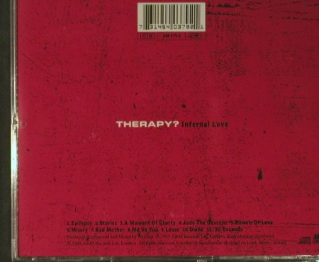 Therapy?: Infernal Love, AM(), EU, 1995 - CD - 98594 - 5,00 Euro