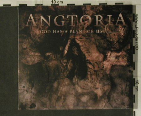 Angtoria: God Has A Plan For Us All, Digi, Listenable Rec.(), EU,  - CD - 98745 - 10,00 Euro