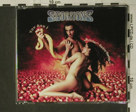 Scorpions: You And I, 1 Tr.Promo, EW(PM 1545), D, 1996 - CD5inch - 98758 - 5,00 Euro