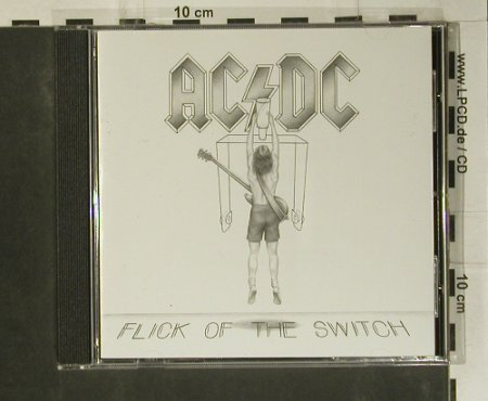 AC/DC: Flick On The Switch, remaster, Atlantic(), D, 83 - CD - 99062 - 7,50 Euro