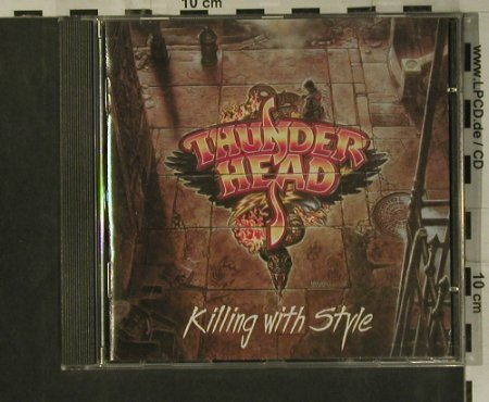 Thunderhead: Killing With Style, GUN(030), D, 1993 - CD - 99239 - 5,00 Euro