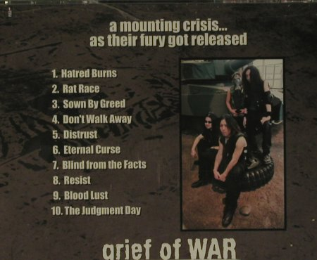 Grief of War: A Mounting Crisis..,. Co, FS-New, Prosthetic(), US, 2007 - CD - 99324 - 7,50 Euro