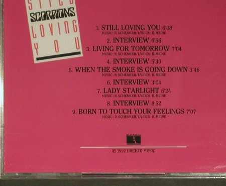 Scorpions: Talk About..., 9 Tr. Promo, FS-New, Breeze(CDP 519 159), D, 1992 - CD5inch - 99360 - 20,00 Euro