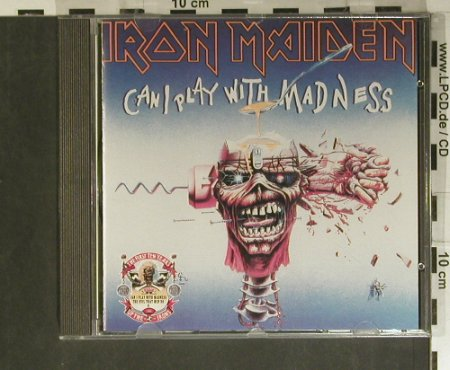 Iron Maiden: Can I Play With Madness,The Evil'88, EMI(), UK, 7Tr., 1990 - CD5inch - 99411 - 25,00 Euro