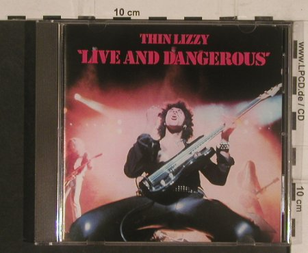 Thin Lizzy: Live And Dangerous, Vertigo(838 030-2), D, 1978 - CD - 99537 - 10,00 Euro
