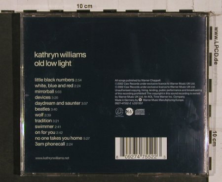 Williams,Kathryn: Old Low Light, Caw(), D, 2002 - CD - 84393 - 7,50 Euro