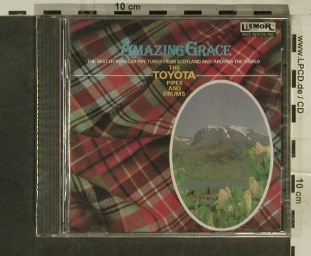 Toyota Pipes And Drums: Amazing Grace, FS-New, Lismor(), UK, 1993 - CD - 95357 - 7,50 Euro