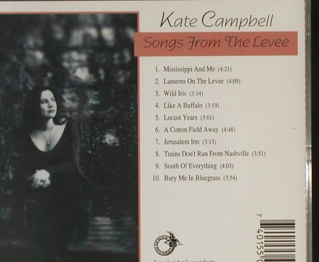 Campbell,Kate: Songs From The Levee, Compass(FIENDcd780), UK, 1996 - CD - 93314 - 12,50 Euro
