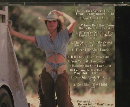 Twain,Shania: The Woman In Me, 12 Tr., Mercury(), D, 1995 - CD - 96689 - 5,00 Euro