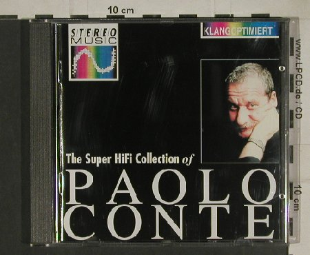 Conte,Paolo: The Super HiFi Collection, BMG/Stereo Music(DD 29017), D, 1991 - CD - 80423 - 7,50 Euro