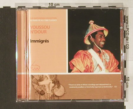 N'Dour,Youssou: Immigres '1988, Stern's Music(), D, 2002 - CD - 84085 - 11,50 Euro