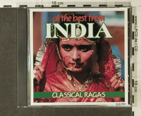 V.A.All the Best from India: 8 Classical Ragas, Cluc(CLUC CD54), CDN,  - CD - 84177 - 5,00 Euro