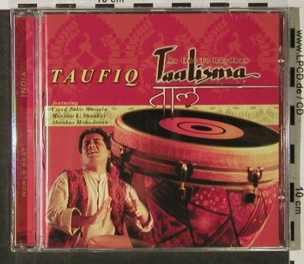 Taufiq: Taalisma, FS-New, Blue Flame(398 50642), EU, 2003 - CD - 92921 - 9,00 Euro