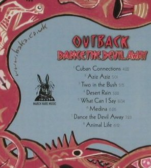 Outback: Dance the Devil Away, FS-New, March Hare Music(MAHAcd 22), , 2006 - CD - 93041 - 10,00 Euro