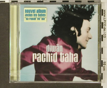 Taha,Rachid: Diwan, FS-New, Barclay(), F, 1998 - CD - 94008 - 10,00 Euro