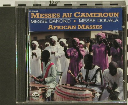 V.A.African Masses Cameroun: Messe Bakoko, Douala, Playa Sound(), F, FS-New, 1990 - CD - 94323 - 10,00 Euro