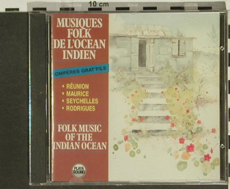 V.A.Folk Music: From The Indian Ocean, Playa Sound(), F, FS-New, 1987 - CD - 94329 - 10,00 Euro