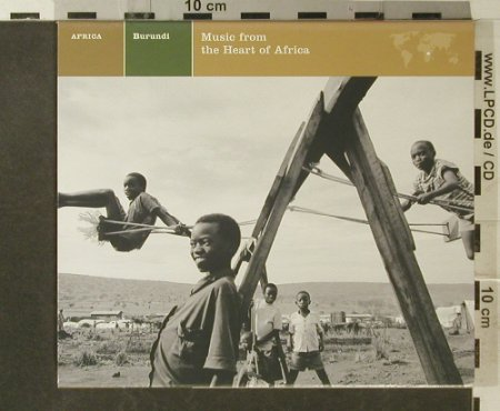 V.A.Burundi: Music From Heart Of Africa,12 Tr., Nonesuch(), US, 1974 - CD - 95570 - 10,00 Euro