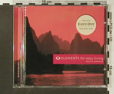 V.A.Elements For Easy Living: The Fire Collection, 11 Tr., Warner Music(), EU, 2004 - CD - 96516 - 5,00 Euro