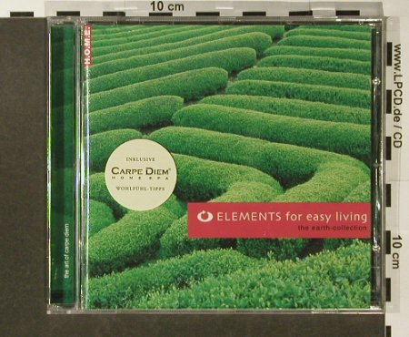 V.A.Elements For Easy Living: The Earth Collection, 12 Tr., Warner Music(), EU, 2004 - CD - 96518 - 5,00 Euro