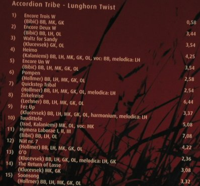 Accordion Tribe: Lunghorn Twist, Digi, Intuition(INT 3389 2), D, 2006 - CD - 97583 - 10,00 Euro