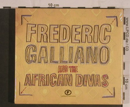 Galliano,Frederic a.t.African Divas: Same, Digi, FS-New, F Communications(), D, 2002 - 2CD - 99546 - 7,50 Euro