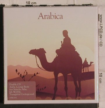 V.A.Arabica: Arabic Lounge Beats, FS-New, Apace Music(LFMcd02), UK, 2005 - 2CD - 99921 - 10,00 Euro