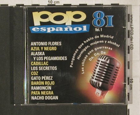 V.A.Pop Espanol 81 Vol.1: Antonio Flores...Nacho Dogan, Orbis Fabbri(81-1), E,  - CD - 50589 - 5,00 Euro