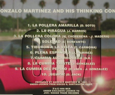 Martinez,Gonzalo: GM And His Thinking Congas, Multicolor(), , 1998 - CD - 53797 - 5,00 Euro