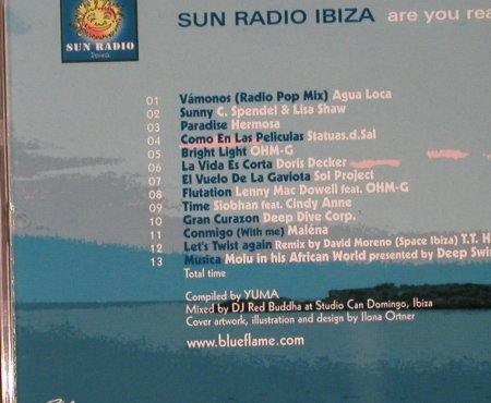 V.A.Sun Radio Ibiza: Are You Ready, Blue Flame(), ,  - CD - 59308 - 5,00 Euro