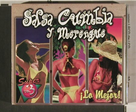 V.A.Salsa Cumbia & Merengue: i Lo Mejor, Boxed, Multimusic(CD3-8309-2), MEX, 1999 - 3CD - 80192 - 7,50 Euro