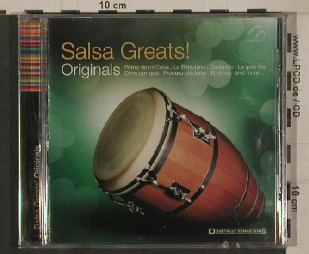 V.A.Salsa Greats!: Originals-Celia Cruz...B.Peregrina, Multimusic(ORI-6759), MEX,FS-New,  - CD - 80386 - 7,50 Euro