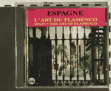 V.A.Spain: The Art Of Flamenco, FS-New, Playa Sound(), F, 1990 - CD - 94311 - 10,00 Euro