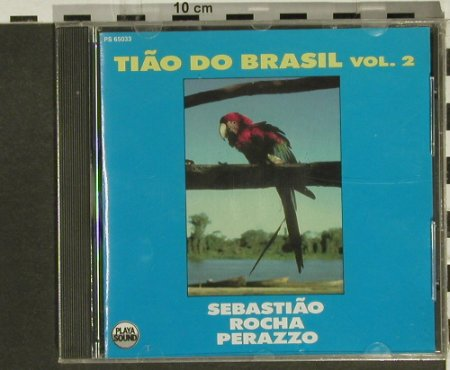 V.A.Tiao Do Brasil: Sebastiao,Rocha,Perazzo, Playa Sound(), F, FS-New, 1989 - CD - 94339 - 10,00 Euro