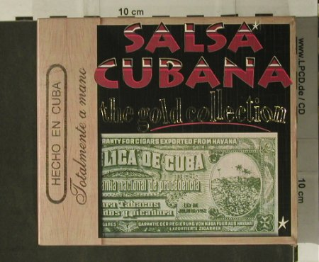V.A.Salsa Cubana: 30 Tr. The Gold Collection, Retro(40-64), EEC, 1998 - 2CD - 98730 - 7,50 Euro
