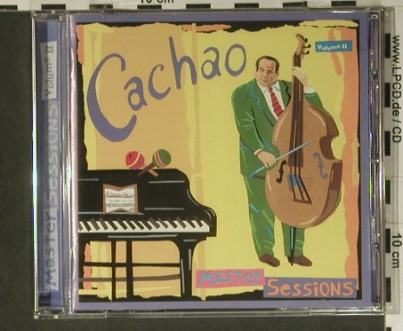 V.A.Cachao: Master Session Vol.2, Epic(481 403 2), , 1995 - CD - 98900 - 7,50 Euro