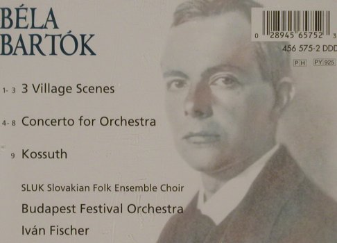 Bartók,Béla: Concerto For Orchestra, Philips(), D, 1998 - CD - 81261 - 9,00 Euro
