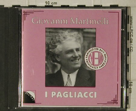 Leoncavallo,Ruggiero: I Pagliacci, 2 acts,Prologue, Eclipse Record(ECR CD1), , 1991 - CD - 81441 - 5,00 Euro