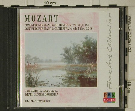 Mozart,Wolfgang Amadeus: Concerto for Piano&Orch. No.21&6, PWK Classics(PWK 1144), UK/Israel, 2003 - CD - 81536 - 6,00 Euro