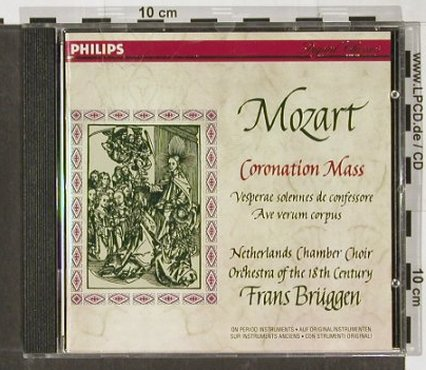 Mozart,Wolfgang Amadeus: Coronation Mass, Philips(), D, 1995 - CD - 91396 - 10,00 Euro